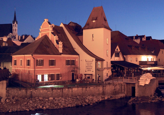 Cesky Krumlov: the haunted town