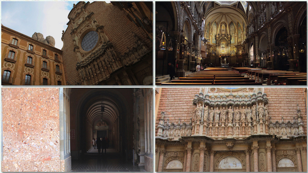 Montserrat temple church cathedral