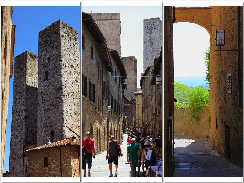 towers and sights of San Gimignano